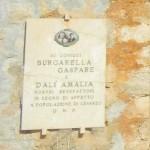il ringraziamento a Gaspare Burgarella